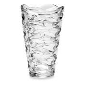 Mikasa® Atlantic 28cm Crystal Vase with Complements both traditional and contemporary decor