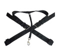 Western Saddle Replacement Rear Black Cinch With Flank 5.1cm Straps Combo Set