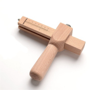 Adjust Strip wooden handle Leather Hand Cutting Tool