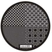 ABC® Cute Pattern Nail Art Image Stamp Stamping Plates Manicure Template