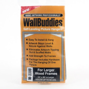 Wall Buddies Hanger for Large Wood Picture Frames - Set of 3