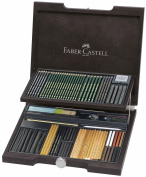 Faber Castell Monochrome PITT Wood Case Set