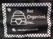 Bee Organised Black *Scrapbook* Tote