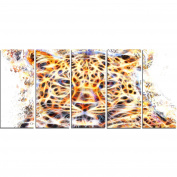 Digital Art PT2357-401 Fetching Feline Large Animal Canvas Art