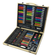 CONDA and Kiddy Colour A199247 Kid's Painting Case for Colouring, 126 Piece