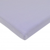 TL Care Supreme 100% Cotton Jersey Knit Fitted Bassinet Sheet, Lavender