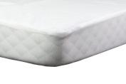 Abstract Baby Waterproof Flannel Standard Crib Mattress Protector