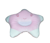 New Born Baby Infant Pillow Prevent Flat Head - Smile Little Star In Pink