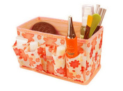 Gotd Folding Multifunction Make up Cosmetic Storage Box Container Bag Case Organiser MakeupstationeryContainer