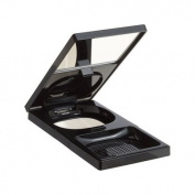 Cream Compact Foundation Case, -