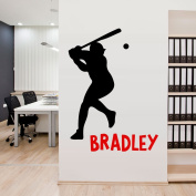 Custom Baseball Boy Name Wall Decal Baby Boy Room Decor Nursery Sport Wall Decal Vinyl Sticker