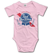 Red Ribbon Funny Graphic Newborn Toddler Babysuit