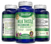 Healthy Surplus - Milk Thistle - 1000 mg - 100 Easy Swallow Capsules - Silymarin Extract