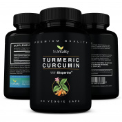 Turmeric Curcumin with BioPerine (Black Pepper Extract) - Premium Highest Potency Pain Relief & Joint Support Supplement - 95% Standardised Curcuminoids - Anti-inflammatory Non-GMO Veggie Capsules