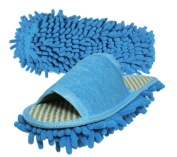 Friendly House Women's Microfiber Floor Cleaning Mop Slippers