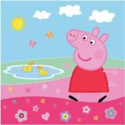 Super Cute, Machine Washable Peppa Pig Peppa's Pond Shower Curtain, 180cm x 180cm