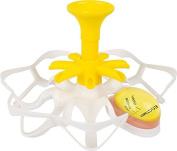 Casabella Exact Egg Boiler, White/Yellow, One Size