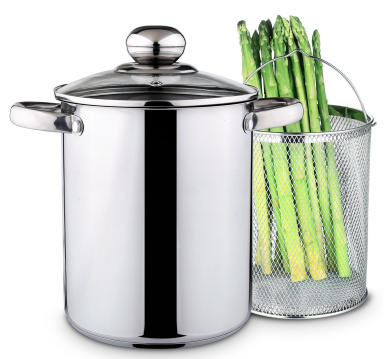 Chef Quality Stainless Steel Steamer - 3.8l Vegetable Steamer or Stovetop Steamer Cooker