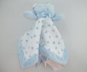 Ralph Lauren Plush Bear Blankie - Light Blue