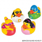 GIFTEXPRESS Super Hero Rubber Duckies