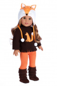 Foxy - 4 Piece Outfit - Hat, Blouse, Leggings and Boots.