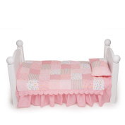 Maplelea's Quilted Comfort Bedding for 46cm Dolls