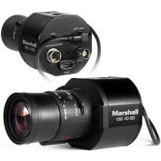 Marshall Electronics CV345-CSB 0.8cm 2.5MP Full HD 3G-SDI/HDMI Compact Broadcast Compatible Camera, 1920x 1080 at 59.94fps, Lens Not Included