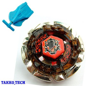 BB29 Dark Wolf - METAL BEYBLADE Fusion Fight Masters+BLUE AUTO RETRACT SINGLE STRING LAUNCHER TOY
