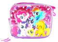 Hasbro My Little Pony Girls Canvas Pink & Purple Insulated Lunch Bag