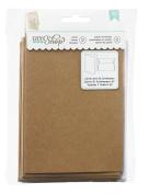 American Crafts DIY Shop A2 Kraft Cards and Envelopes