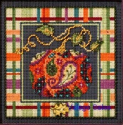 Paisley Pumpkin Cross Stitch Kit