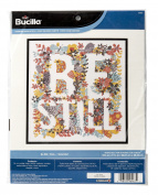 Bucilla Be Still Counted Cross Stitch Kit, 46467 Size 27cm by 29cm