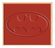 Rubber Stamp DC Comics Batman Logo Rubber Stamp