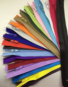 50pcs mix Nylon Coil Zippers Tailor Sewer Craft (41cm ) Crafter's & FGDQRS