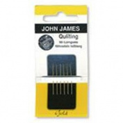 John James Quilting Needles Gold N Glide Size 12