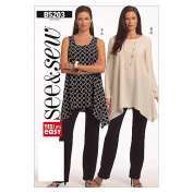 Butterick Patterns B5203 Misses'/Misses' Petite Tunic and Pants, Size B