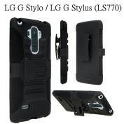 LG G Stylo Case, Asstar Holster Case, New Generation Rugged Hybrid Dual Layers Armour Case with Kickstand and Belt Swivel Clip for LG G Stylo / LG G4 Stylus / LG LS770