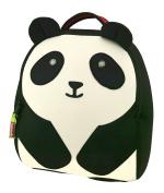 Dabbawalla Bags Preschool & Toddler Panda Backpack, Black/White