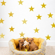 Amaonm® Set of 39 PCS 3-5cm Removable DIY Vinyl Cute Cartoon Stars Wall Decal Star Wall Stickers Murals Art Decor for Kids Babys Children Boys Girls Bedroom Ceiling Living Room Playroom