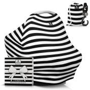 Baby Car Seat Canopy Cover | GIFT BOX Bonus Set