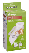 Hygie Urinal Kit - 1 Urinal Support and 6 Urinal Bags with Super Absorbent Pad
