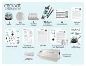 Ozobot 2.0 Bit Classroom Kit, White