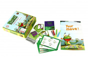 Logic Roots LRFGFR1407G3 Card Game with Advanced Fraction Skills, Green