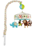 Baby Soothing Crib Mobile, Animal Friends