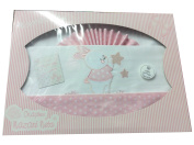 Bedding Set Baby Cot Bed Bedding Set Baby/Baby Birth Gift Pink Rabbit - Girls, Great designs and colours - Navy -