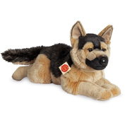 Lying German Shepherd Plush Soft Toy by Teddy Hermann.60cm.91924