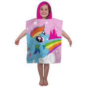 My Little Pony Equestria Poncho Hooded Towel