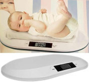 Garden Mile® PORTABLE TABLE TOP WHITE DIGITAL DISPLAY ELECTRONIC HOME BABY WEIGHING SCALES INFANT OR PET WEIGHING BATHROOM SCALES