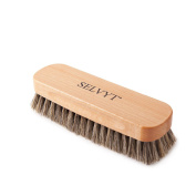 Selvyt Beechwood Luxury Horse Hair Buffing and Polishing Brush for Shoes and Boots