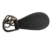 Lifeyz Portable Professional leather Metal Shoe Horn with 4 Keyrings